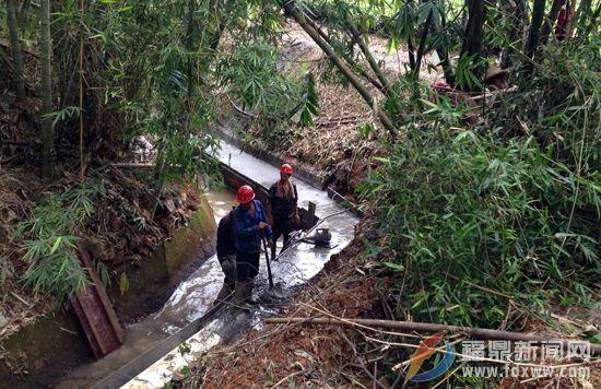 龙安供水工程吉坑水库引水项目顺利推进建设